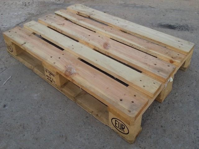 Pallets De Madeira Euro Usados 80 X 120 X 14 Cm R 40 00